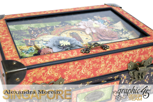 Nature Sketchbook Box&Notebook&ATC, Tutorial by Alexandra Morein, Product by Graphic 45, Photo 3