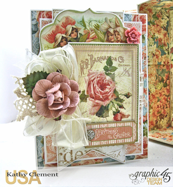 Secret Garden Tag Album in a Box Tutorial, Secret Garden, by Kathy Clement, Product by Graphic 45, Photo 7