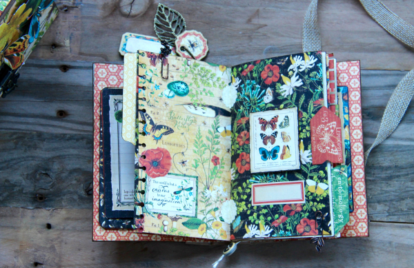 Box And Album Nature Sketchbook by Marina Blaukitchen Product by Graphic 45 photo 16