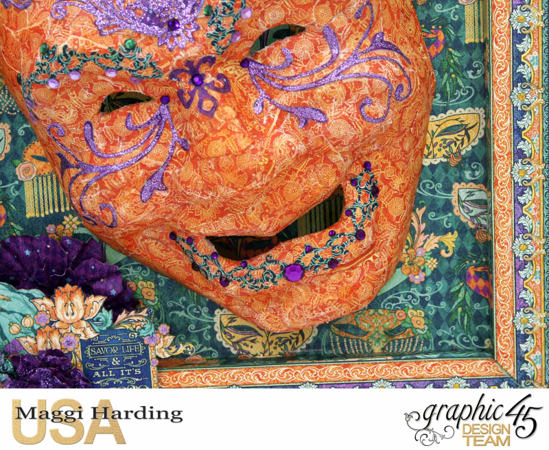 Mask  Midnight Masquerade  Maggi Harding  Graphic 45 (5)