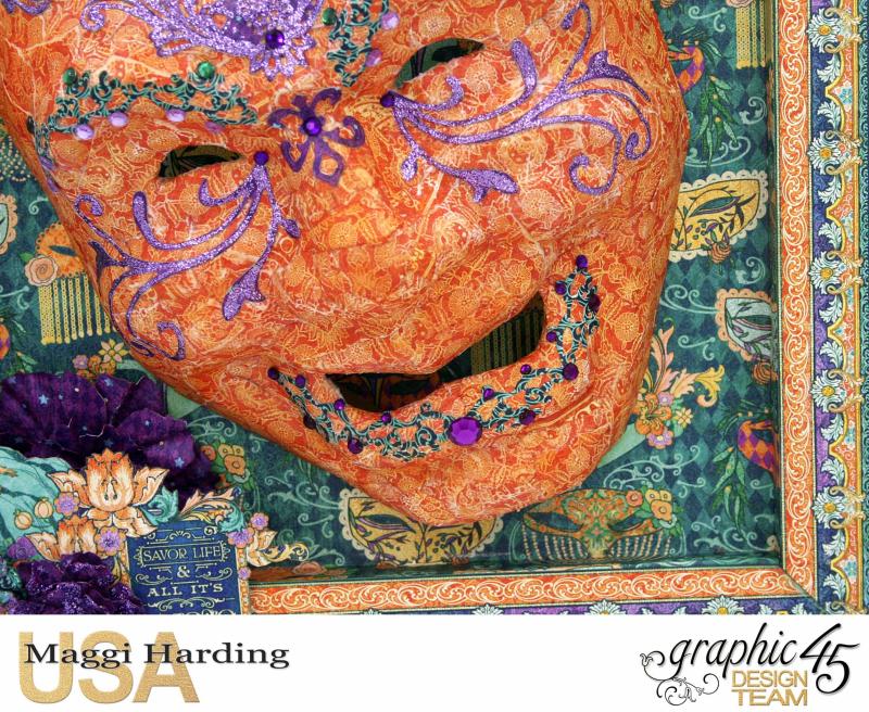 Mask  Midnight Masquerade  Maggi Harding  Graphic 45 (5)
