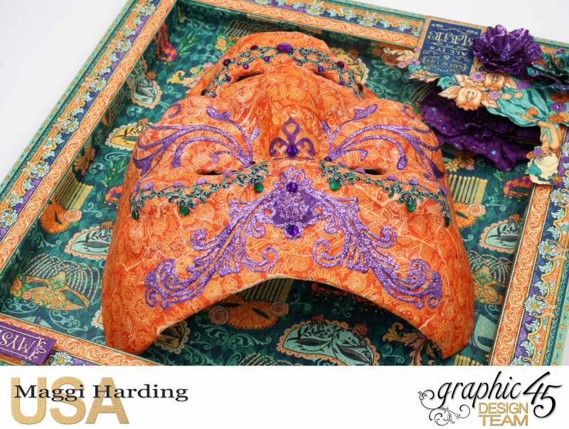 Mask  Midnight Masquerade  Maggi Harding  Graphic 45 (4)