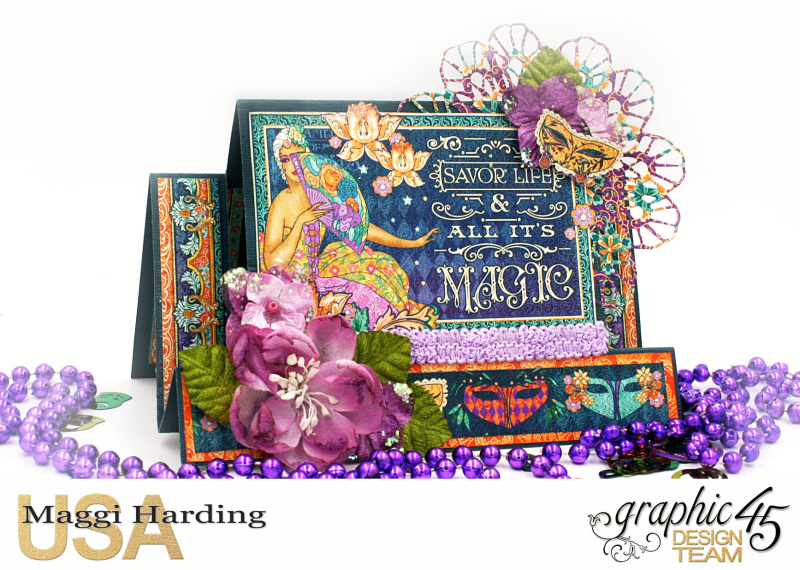 Card  Midnight Mawquerade  Maggi Harding  Graphic 45 (6)