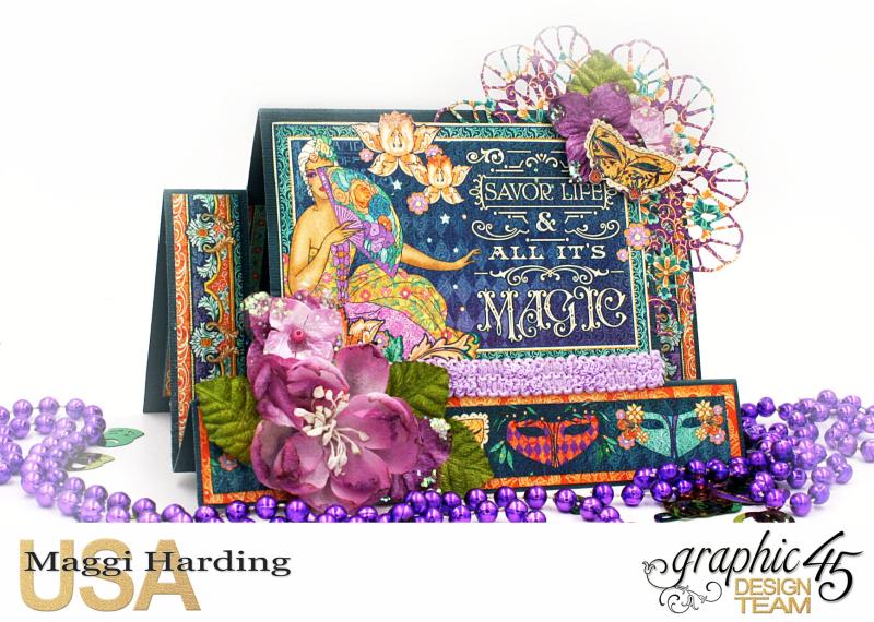 Card  Midnight Mawquerade  Maggi Harding  Graphic 45 (6)