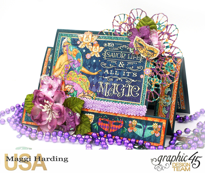 Card  Midnight Mawquerade  Maggi Harding  Graphic 45 (1)
