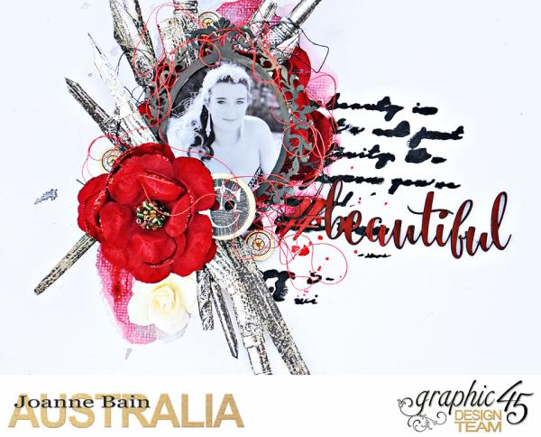 Watercolour-Layout -Communique -JoanneBain -product-by-Graphic-45 -Photo-1