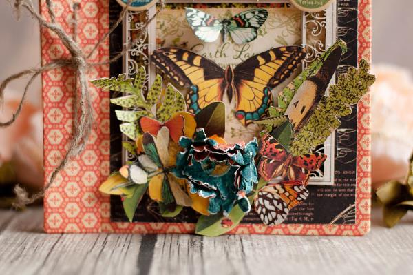 Mini album-Nature Sketchbook- Lena Astafeva-product by Graphic 45-20