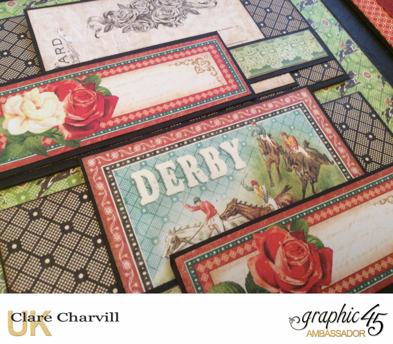 Off to the Races Album 5 Clare Charvill Graphic 45