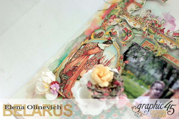 Layout  Enchanted Forest  by Elena Olinevich  product by Graphic45  photo6a