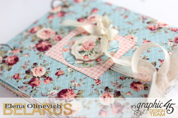 Album  Secret Garden  by Elena Olinevich  product by Graphic45  photo8b
