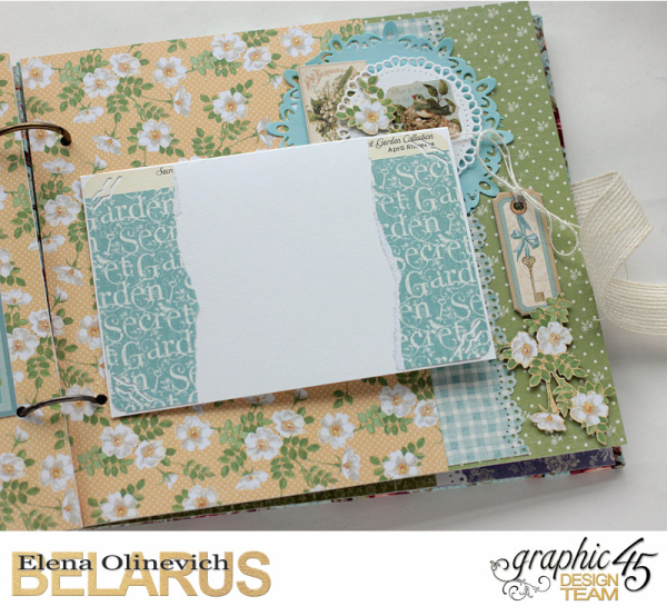 Album  Secret Garden  by Elena Olinevich  product by Graphic45  photo7