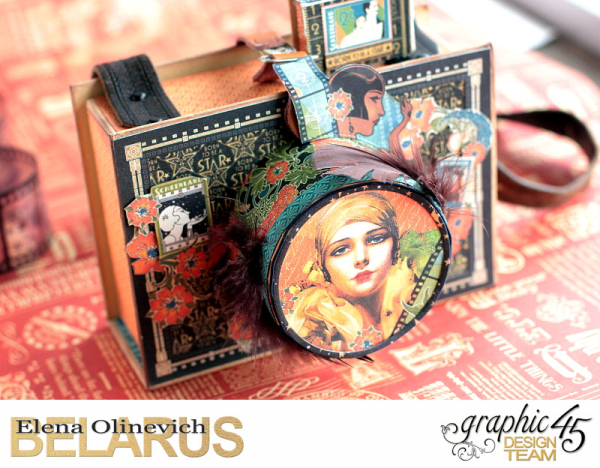 Camera Box  Vintage Hollywood  by Elena Olinevich  product by Graphic45  photo 2