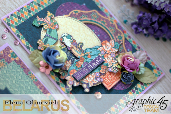 Cards  Midnight Masquerade  by Elena Olinevich  product by Graphic45  photo4