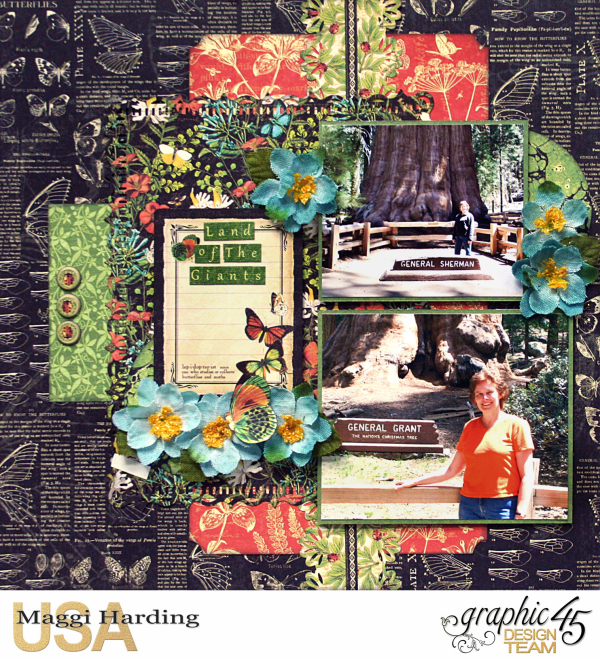 Dbl layout  Nature Sketchbook  tutorial Maggi Harding  Graphic 45 (2)