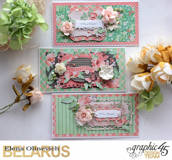 Wedding Cards  Time to Celebrate  by Elena Olinevich  product by Graphic45  photo3