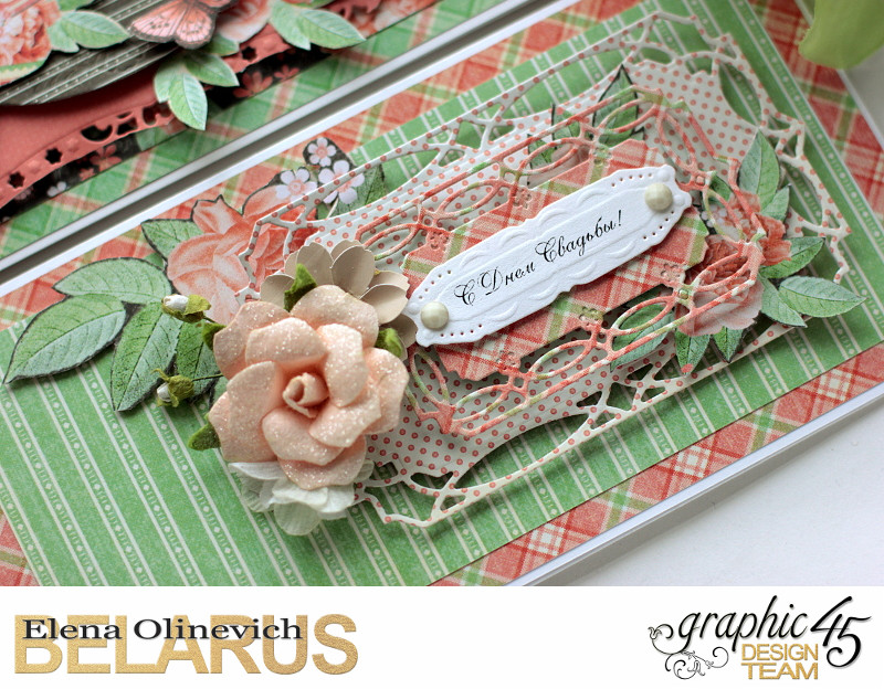 Wedding Cards  Time to Celebrate  by Elena Olinevich  product by Graphic45  photo7a