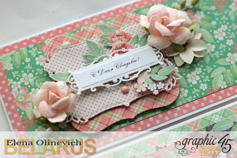 Wedding Cards  Time to Celebrate  by Elena Olinevich  product by Graphic45  photo7b