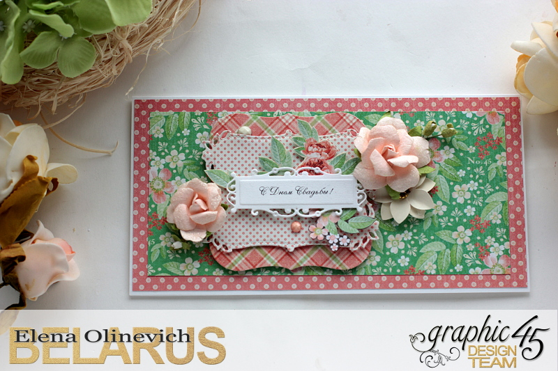 Wedding Cards  Time to Celebrate  by Elena Olinevich  product by Graphic45  photo2