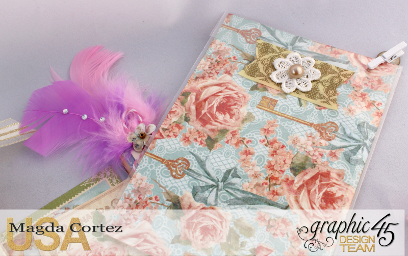 Loaded Pocket of Secrets- Secret Garden-By Magda Cortez- Product of Graphic 45- Photo 07 of 12