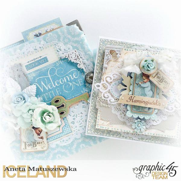 Aneta  Baby  Precious Memories  Baby ALbum  Card
