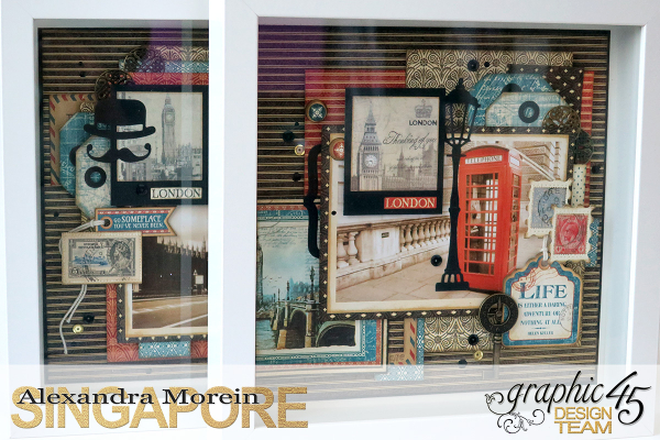 Double Layout  CityScapes  Project by Alexandra Morein  Product by Graphic 45  Photo 10