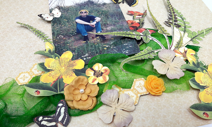 Life is the Flower Layout  Nature Sketchbook  by Einat Kessler  product  Graphic 45  photo 4