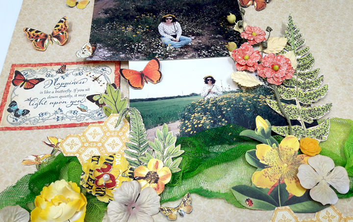 Life is the Flower Layout  Nature Sketchbook  by Einat Kessler  product  Graphic 45  photo 3