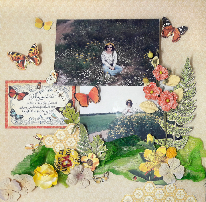 Life is the Flower Layout  Nature Sketchbook  by Einat Kessler  product  Graphic 45  photo 8