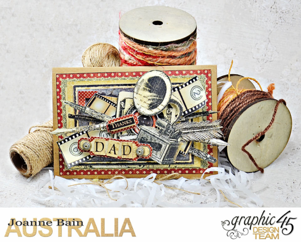 Fathers-Day-Card -Communique -Tutorial-By-Joanne-Bain -Product-by-Graphic-45 -Photo-1