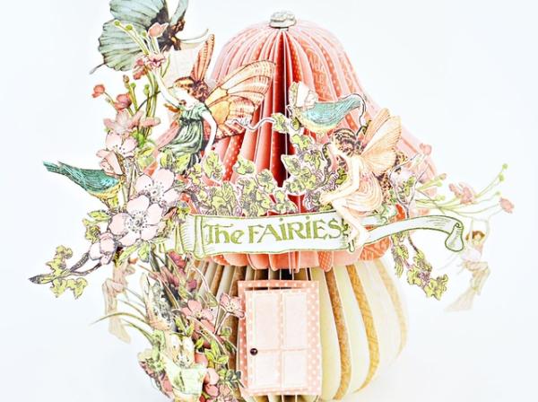 Joanne Bain Mushroom Fairy House Joanne Baine