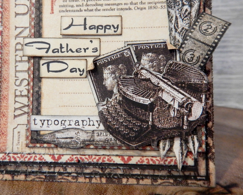 Father's Day Card Set  Communique DCE  Tutorial By Katelyn Grosart  Product By Graphic 45  Photo 7