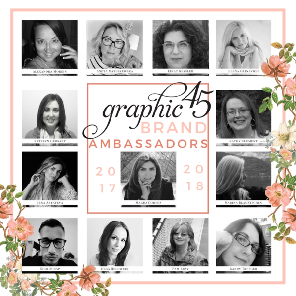 Graphic 45 Brand Ambassadors 2017 Big Announcement