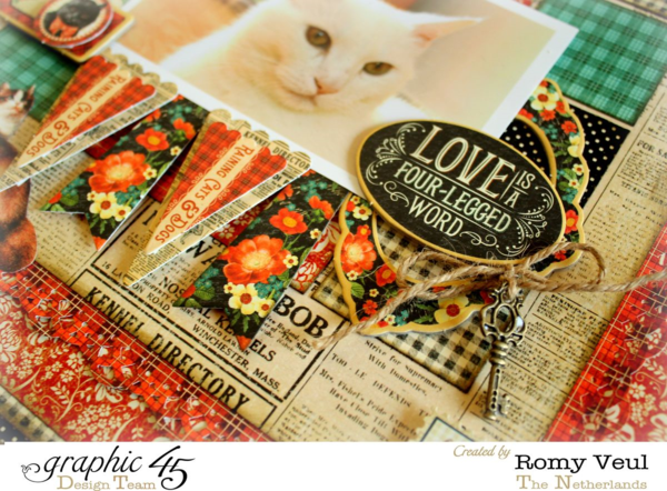 Raining Cats & Dogs lay-out Romy Veul 2
