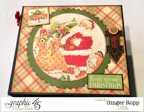 Night Before Christmas Mini Cover Closeup Coordinations