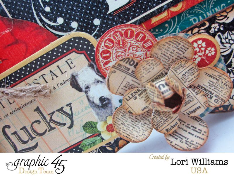 Raining cats and dogs g45 lori willliams graphic 45 frame close up