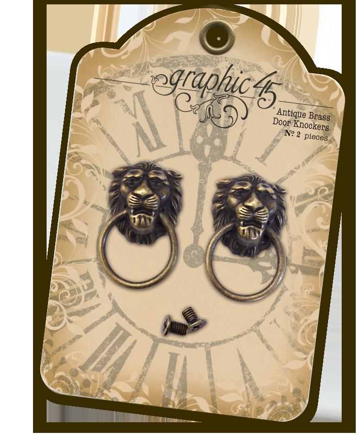 Lion-head-knockers