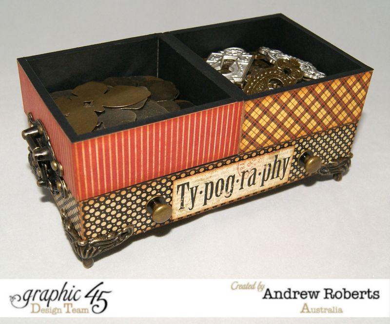 Graphic 45 metal staples storage case 4