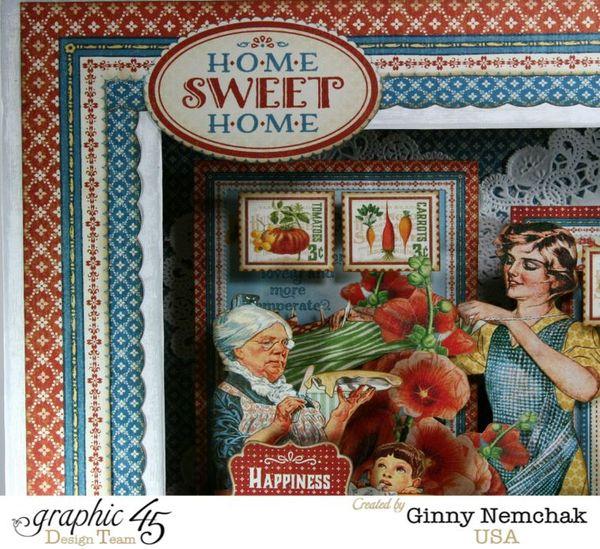 Home Sweet Home Matchbook Box 1