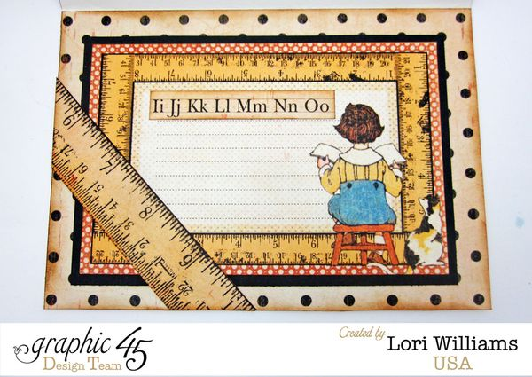 ABC Primer Card by Lori Williams