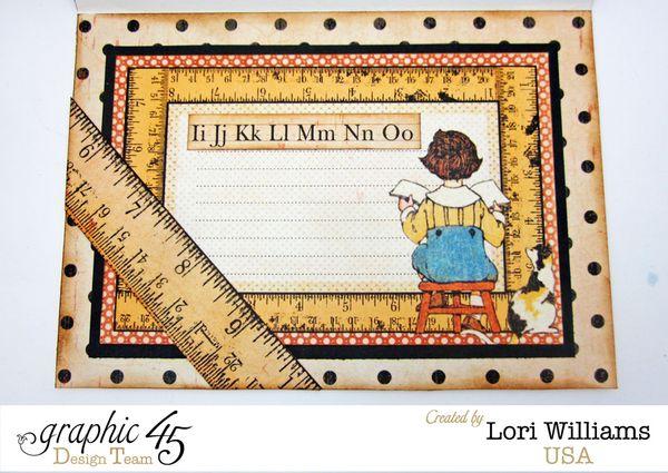 ABC Primer Card by Lori Williams