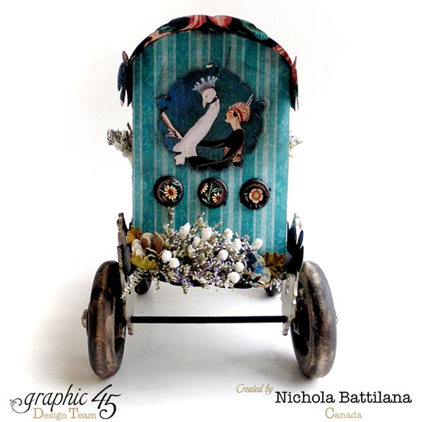 A Couture Caravan with Graphic 45 - Nichola Battilana