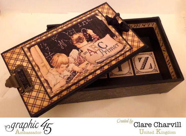 ABC Primer Pencil Case _ Album 1 Clare Charvill Graphic 45