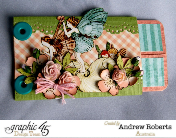 Springtime tutorial from Andrew #graphic45