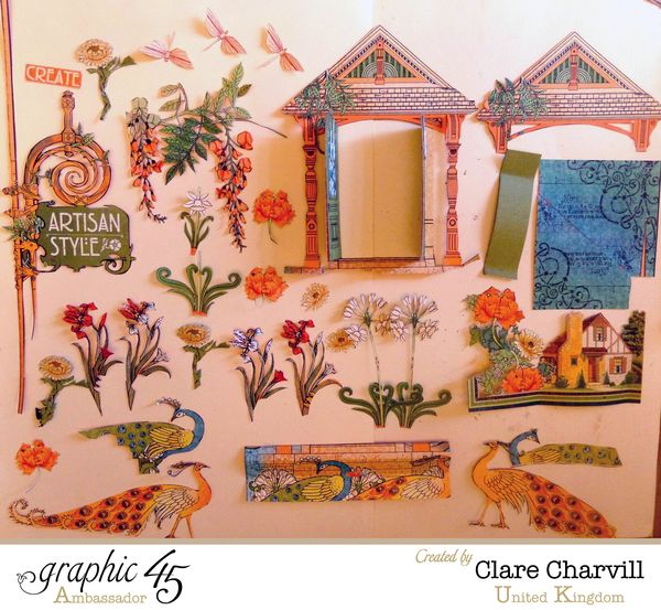 Artisan Style Frame 1 Clare Charvill Graphic 45