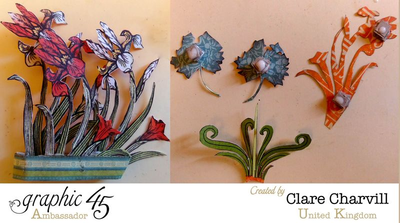 Artisan Style Frame 11a Clare Charvill Graphic 45