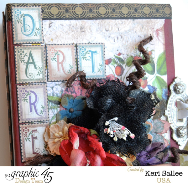Set crafting goals for yourself with this Art Dare idea from Keri #graphic45