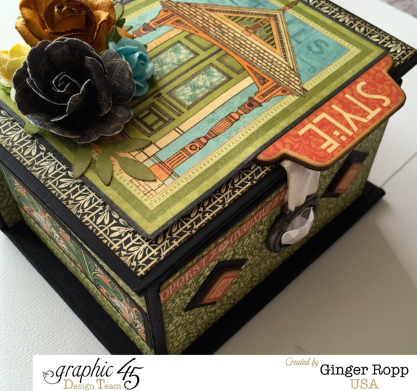 Artisan Style Book Box by Ginger Ropp - we love her style #graphic45