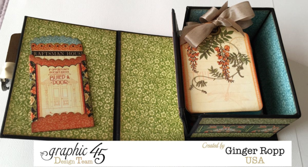 Gorgeous tags in this Artisan Style Book Box by Ginger #graphic45