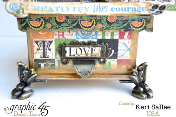 Make room for love with this Typography Idea Box by Keri #graphic45