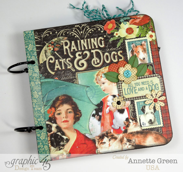 Love this board book with Raining Cats & Dogs by Annette! Perfect for our pet-loving G45ers! #graphic45
